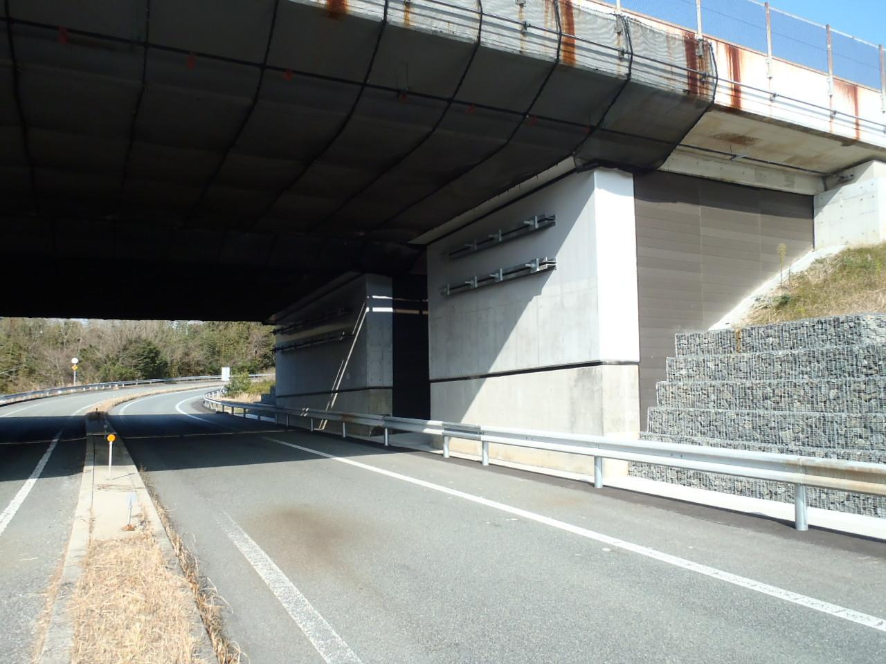 東山橋完成(Bランプ)