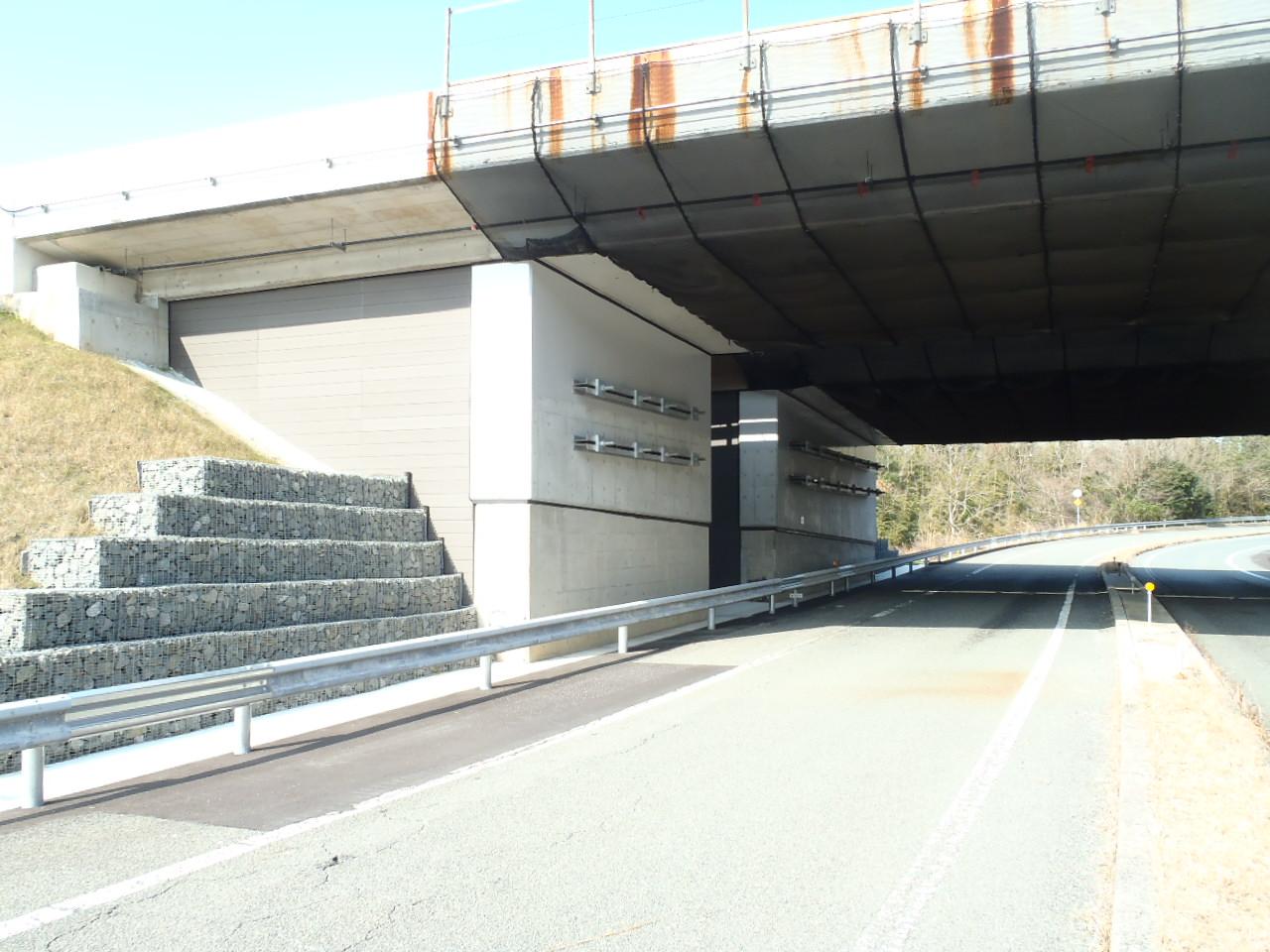 東山橋完成(Aランプ)